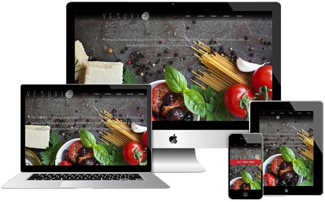 Example Responsive Website Design