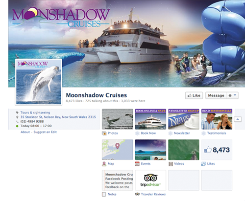 Moonshadow Facebook Tabs